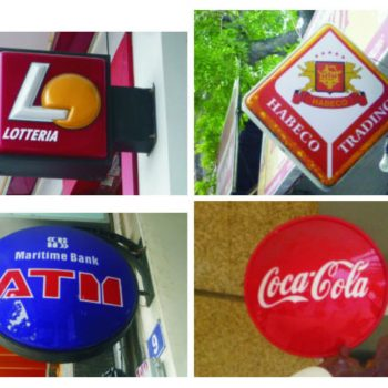 Nhận thi công bảng hiệu hộp đèn ép nổi quảng cáo chất lượng giá rẻ tại quận 12